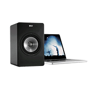 KEF X300A powered desktop speaker