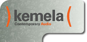 kemela contemporary audio logo